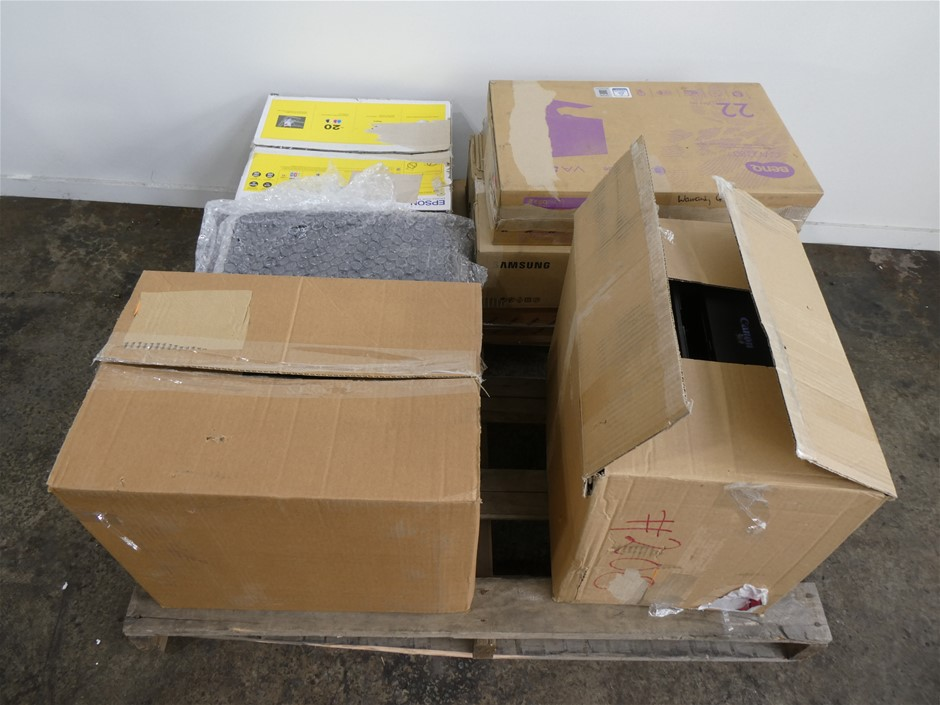 PALLET CONTAINING ASSORTED USED & UNTESTED IT EQUIPMENT