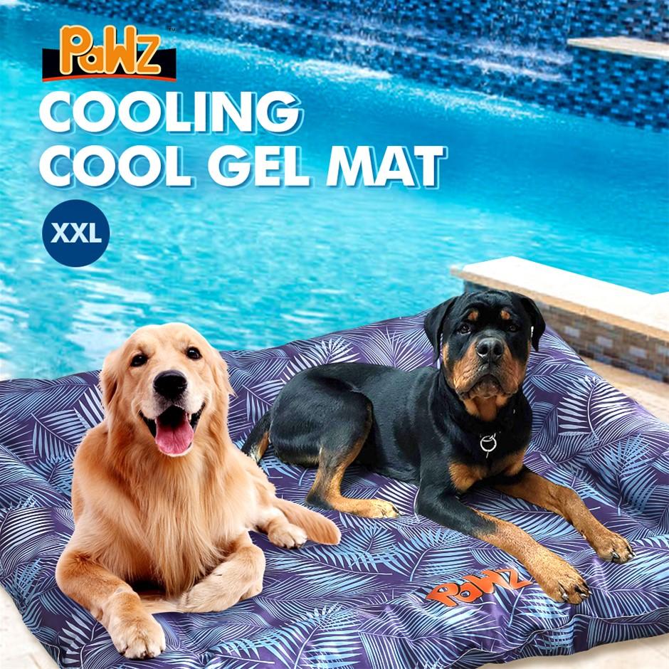 PaWz Pet Cooling Mat Gel Mats Bed Cool Pad Puppy Cat Non-Toxic Beds XXL