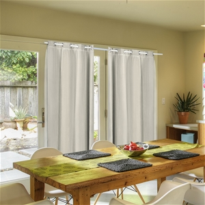 2x Blockout Curtains Panels 3 Layers W/