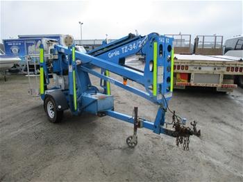 2011 Genie TZ 34/20 200 Kg Boom Lift (Electric)