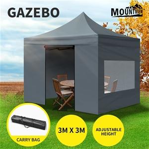Mountview Gazebo Tent 3x3 Outdoor Marque