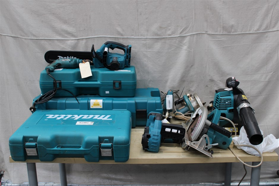 Bulk Lot of Assorted Makita Power Tools