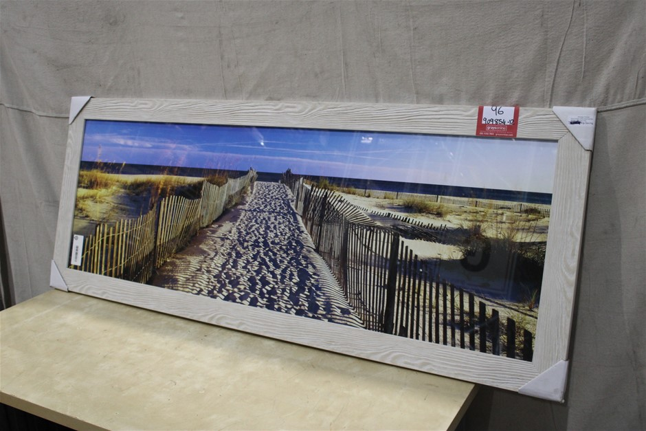 Large Framed Scenic Picture