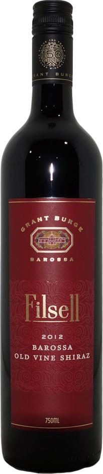Grant Burge Filsell Old Vine Shiraz 2012 (6x 750mL), SA . Screwcap.