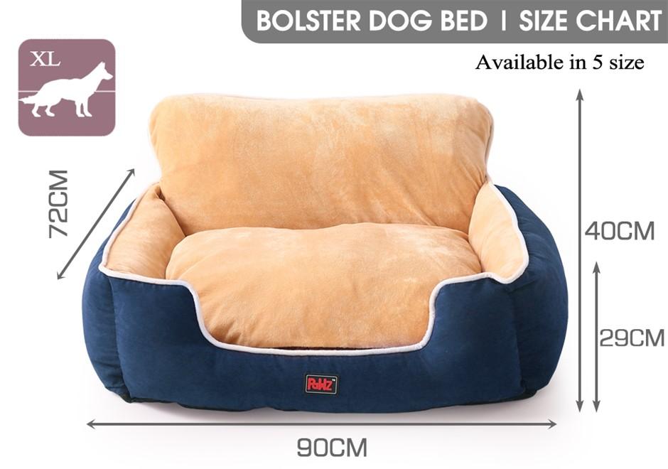 PaWz Pet Bed Dog Puppy Beds Cushion Pad Pads Soft Plush Cat Pillow Mat XL