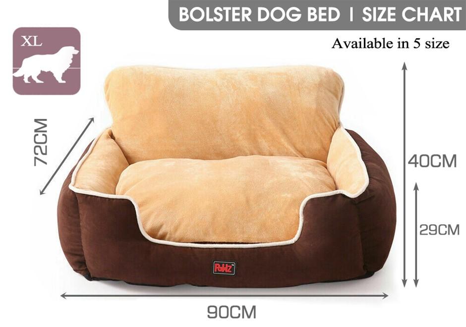 PaWz Pet Bed Dog Beds Cushion Pad Pads Soft Plush Cat Pillow Mat XL