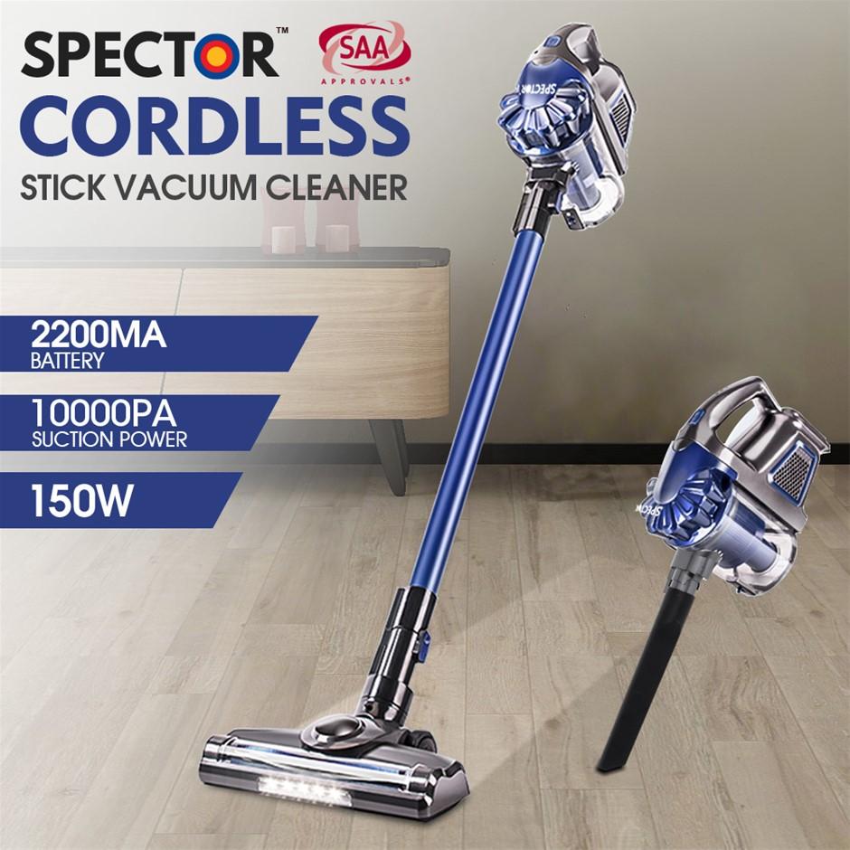 Spector 150W Handheld Vacuum Cordless Stick Vac Bagless