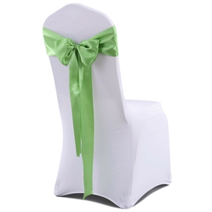 50x Satin Chair Sashes Cloth Cover Party
