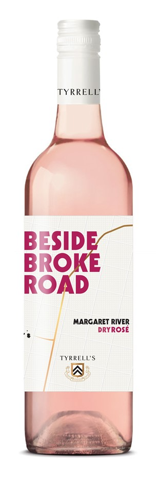 Tyrrell's `Beyond Broke Road` Rose 2019 (6 x 750mL) Margaret River, WA