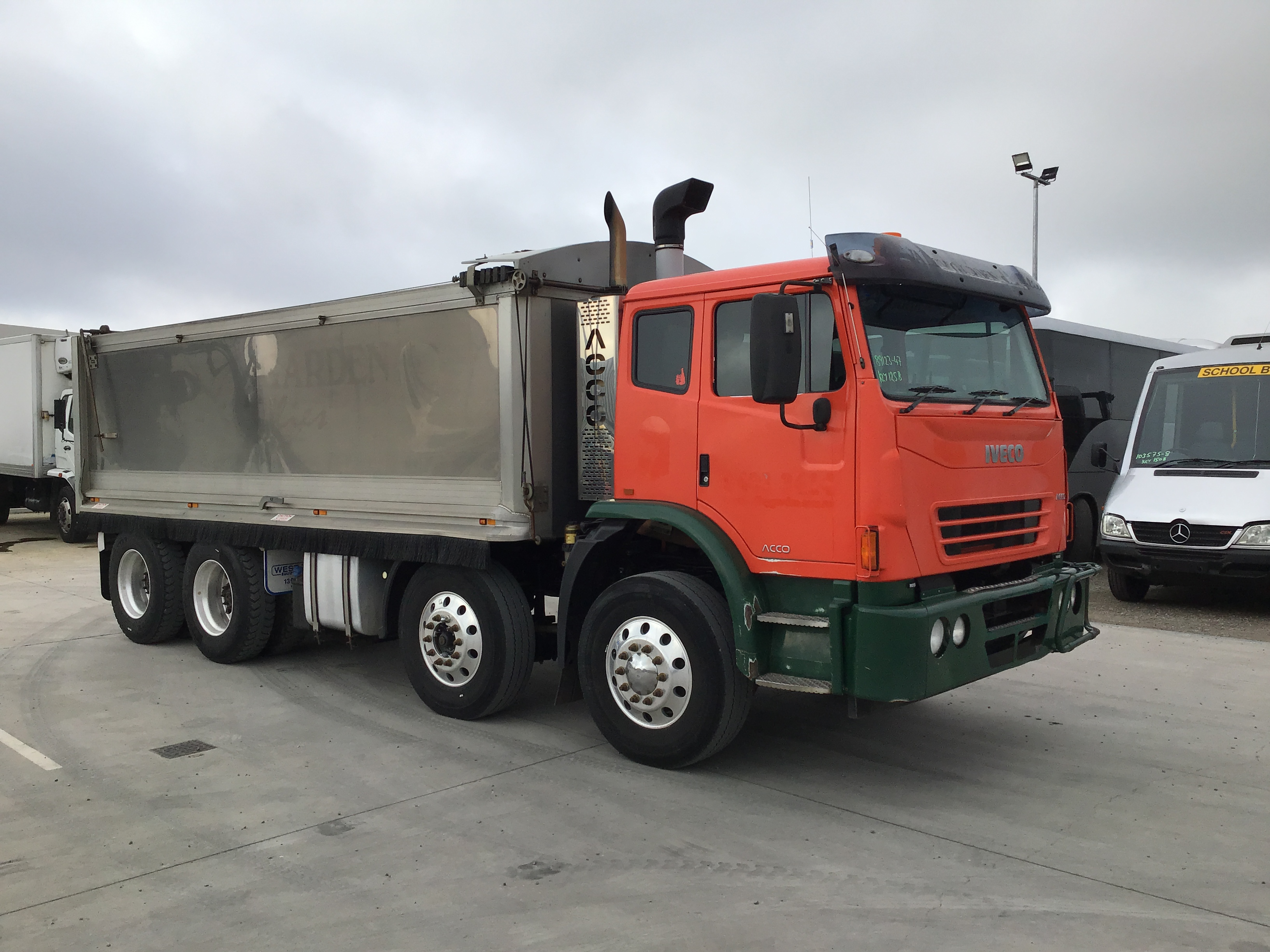 2013 Iveco Acco 8 x 4 Tipper Truck