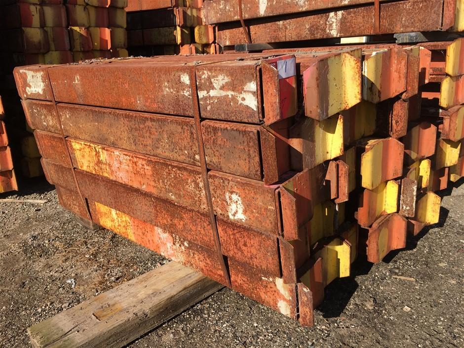 Pack of Acrow Bantamweight Steel Floor Centres