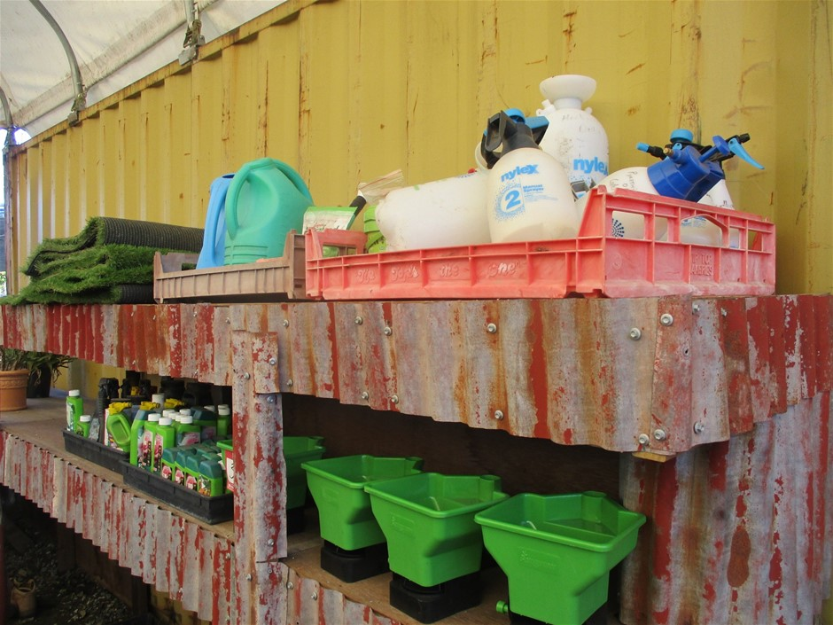 Assorted Garden Care Items
