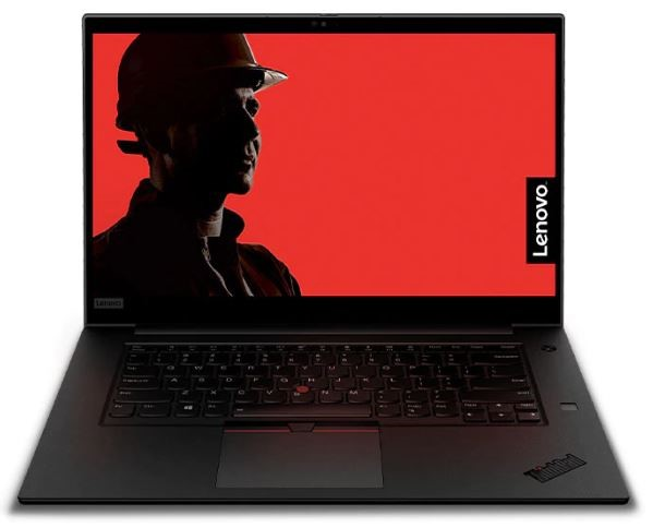 Lenovo ThinkPad P1 2nd Gen 15.6-inch Notebook, Black