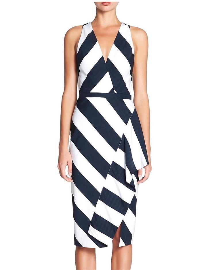 MANNING CARTELL Escape Artist Dress. Size 6, Colour: Black. ORP: $599 Buyer