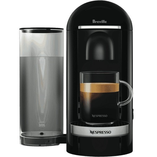 BREVILLE NESPRESSO Vertuo Plus Coffee Machine, Black. N.B. Not in original