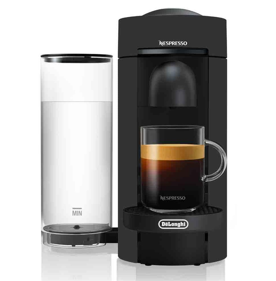 BREVILLE NESPRESSO Vertuo Plus Coffee Machine, Black. N.B. Used & not in or