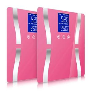 SOGA 2x Digital Body Fat Scale Bathroom