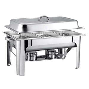 SOGA 9L SS 3 Pans Bain-marie Chafing Cat