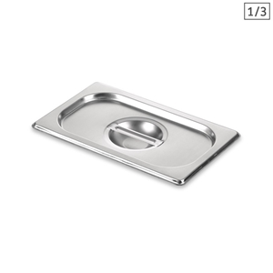 SOGA Gastronorm GN Pan Lid Full Size 1/3