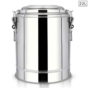 SOGA 22L SS Insulated Stock Pot Dispense
