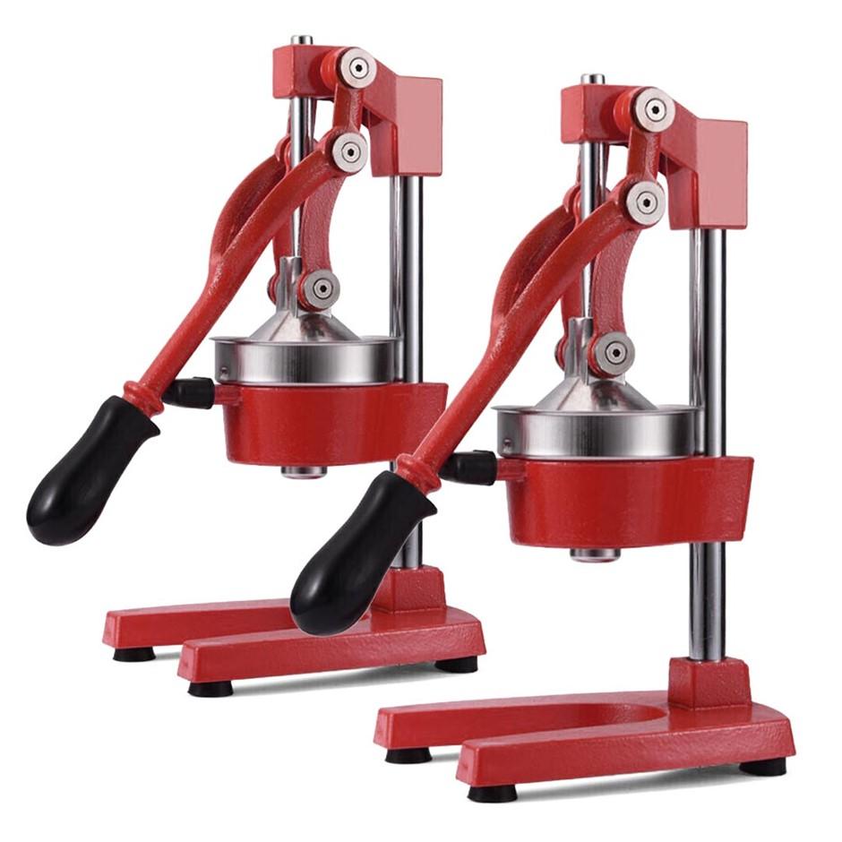 SOGA 2X Commercial Manual Juicer Hand Press Juice Extractor Squeezer