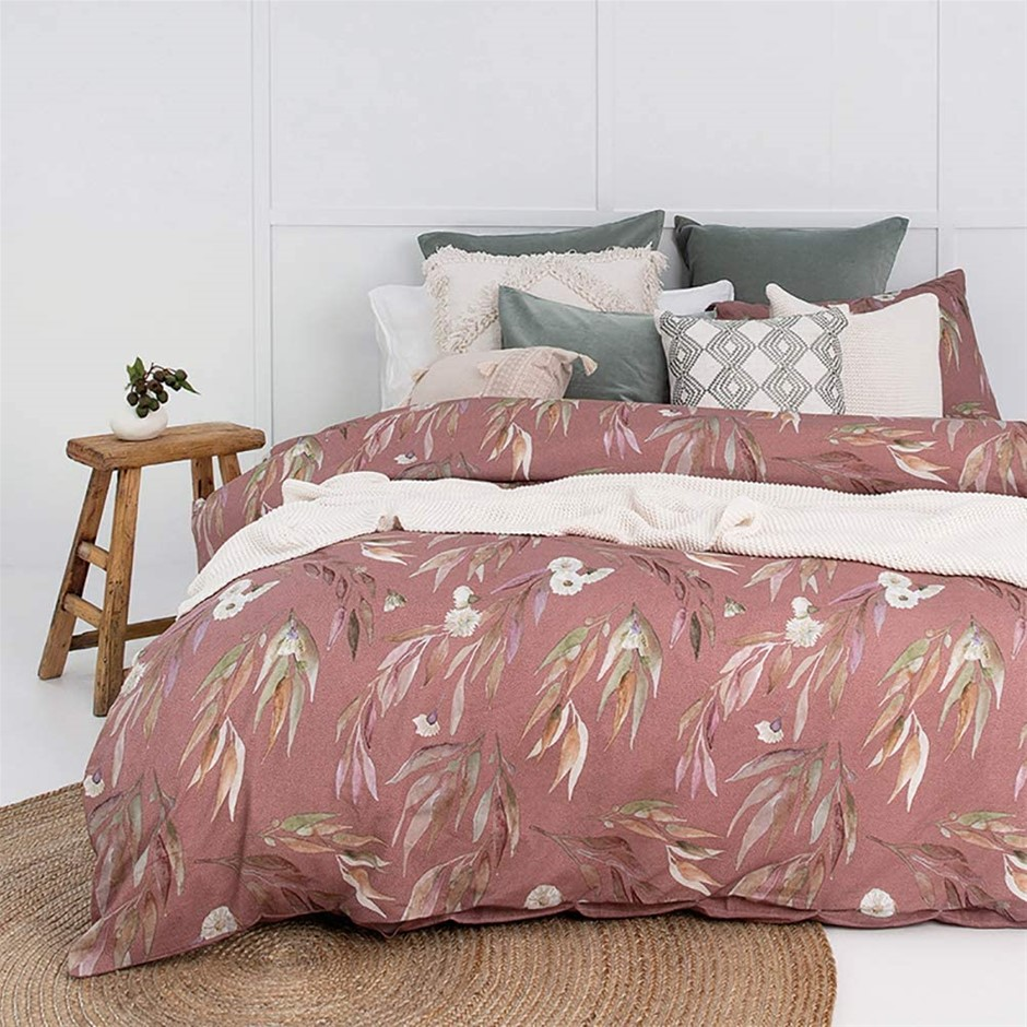 Bambury Quilt Cover Set Coolibah Quilt Cover Set, Queen Bed. 100% Cotton. B