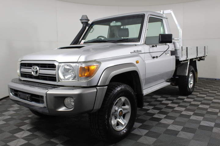 2010 Toyota Landcruiser GXL (4x4) VDJ79R Turbo Diesel Cab Chassis