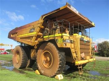 1998 Caterpillar 777D Rigid Dump Truck