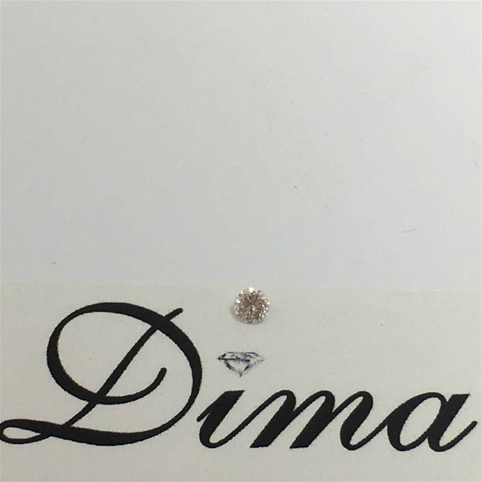 0.06ct Pink Diamond