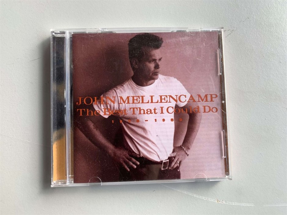 CD for Collection, The Best That I Could Do, John Mellencamp