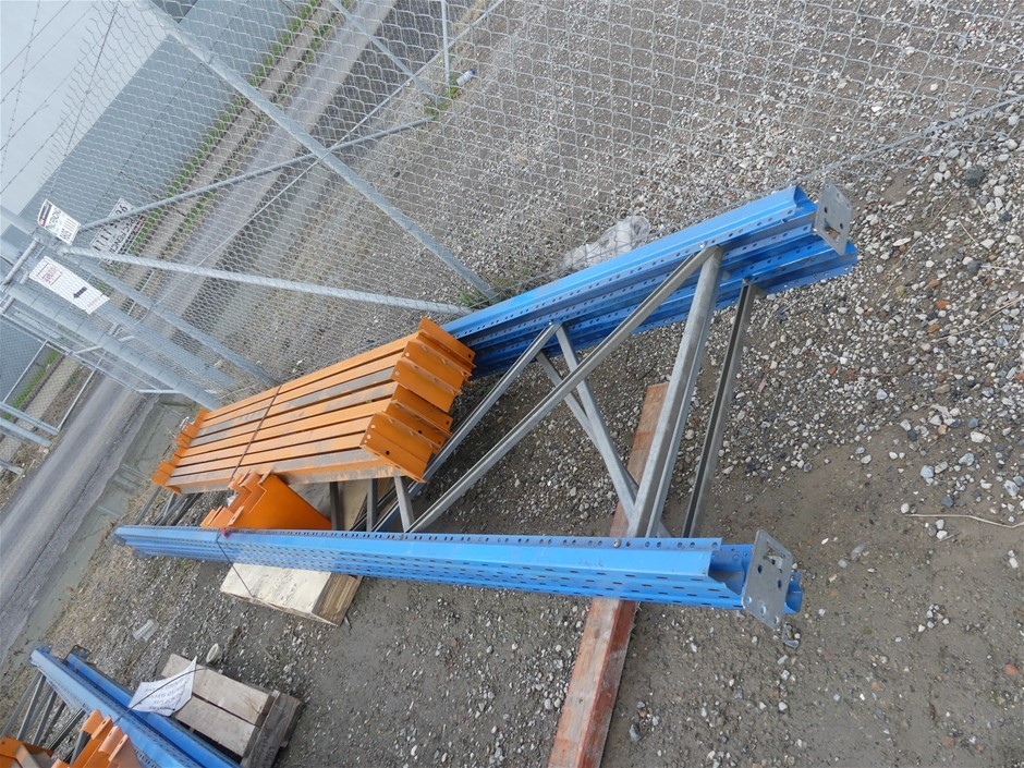 Dexion Pallet Racking Disassemble Comprising of the following <