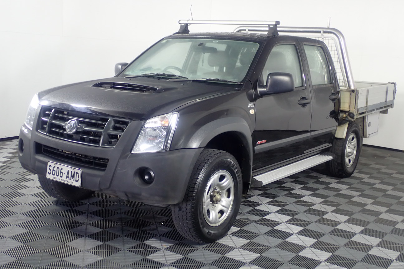 2007 Holden Rodeo LX (4x4) RA Turbo Diesel Manual Dual Cab (WOVR-INSPECTED)