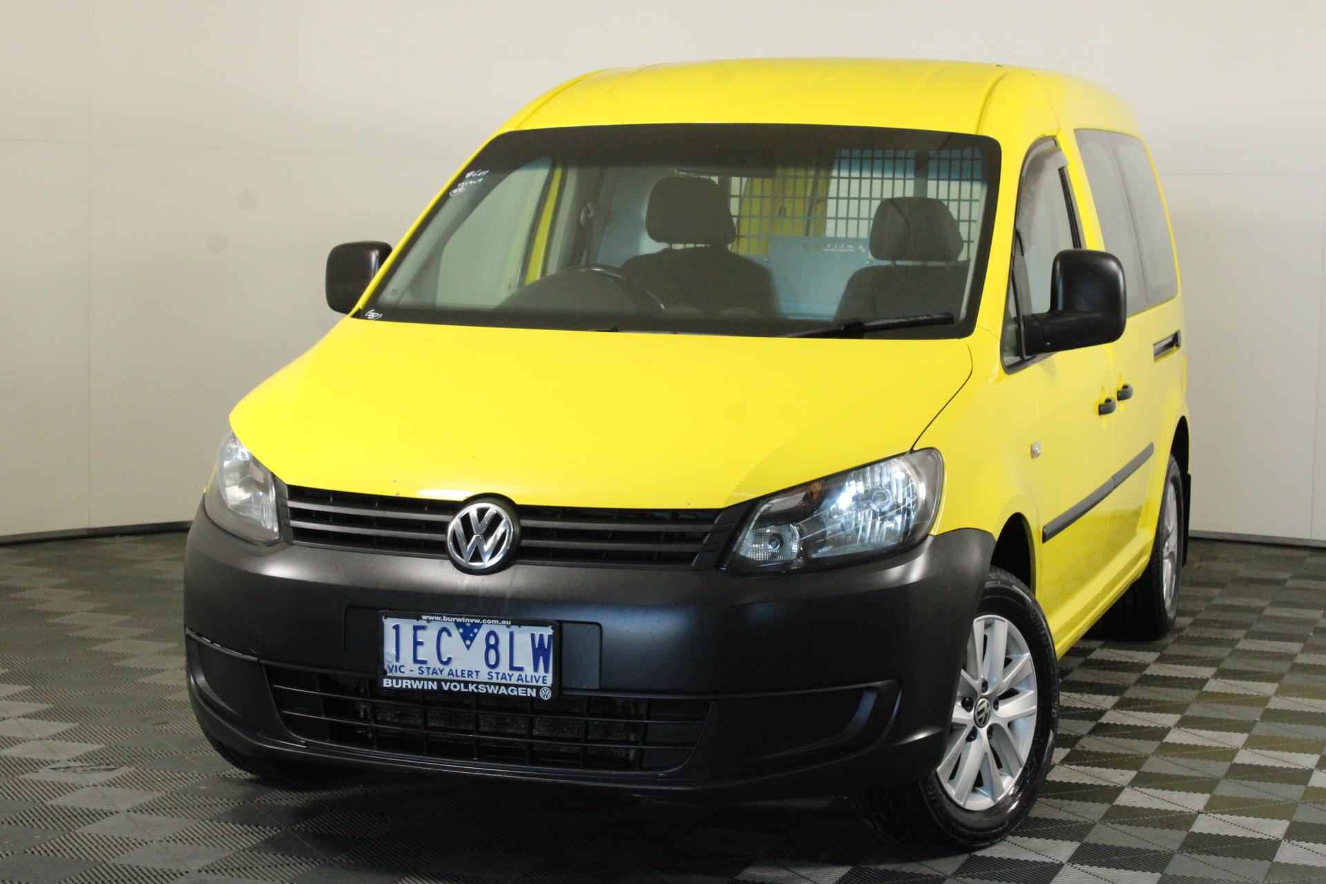 2015 Volkswagen CADDY Turbo Diesel Automatic Van (EX RACV)
