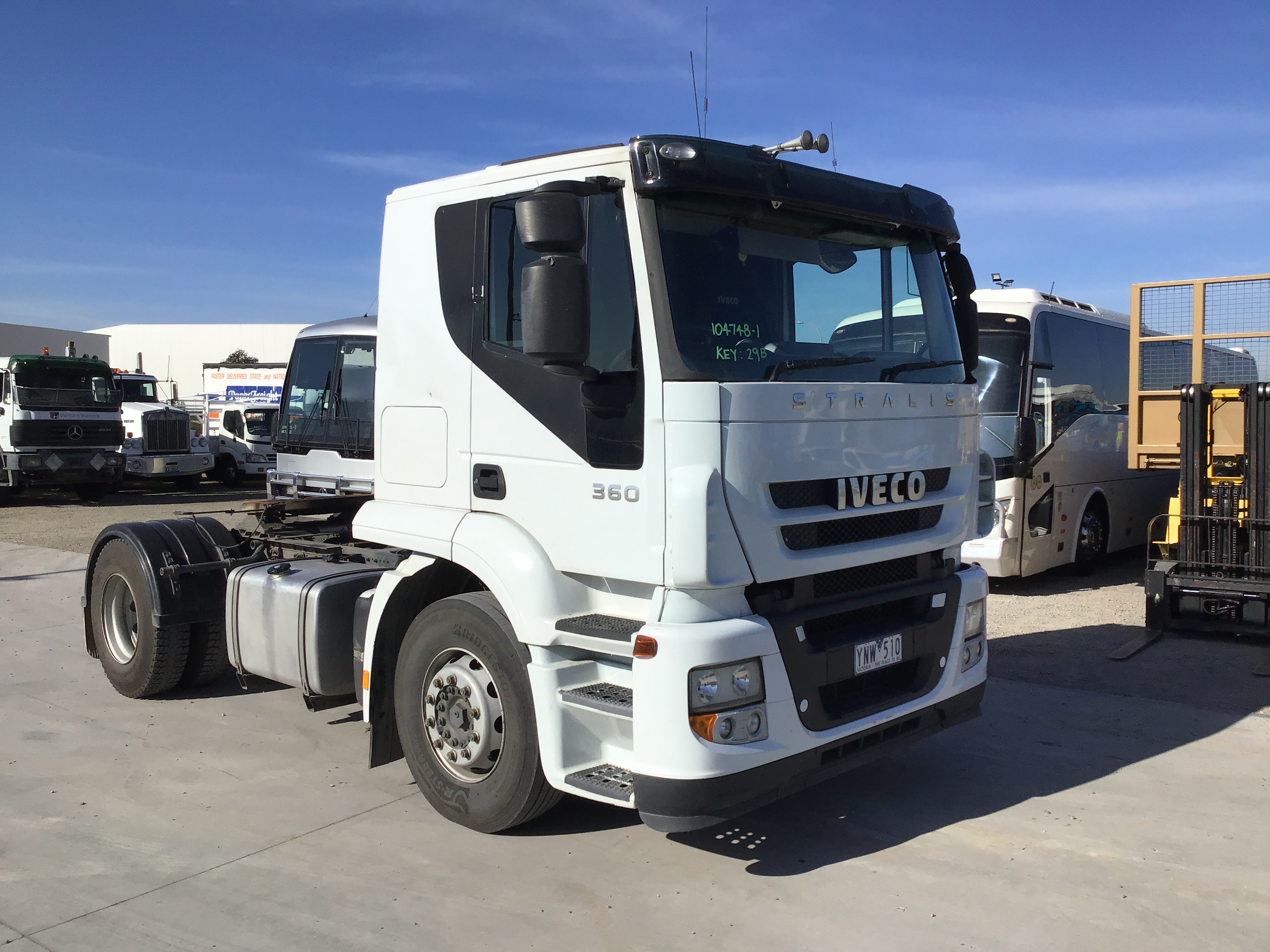 2010 Iveco Stralis 6 x 4 Prime Mover Truck