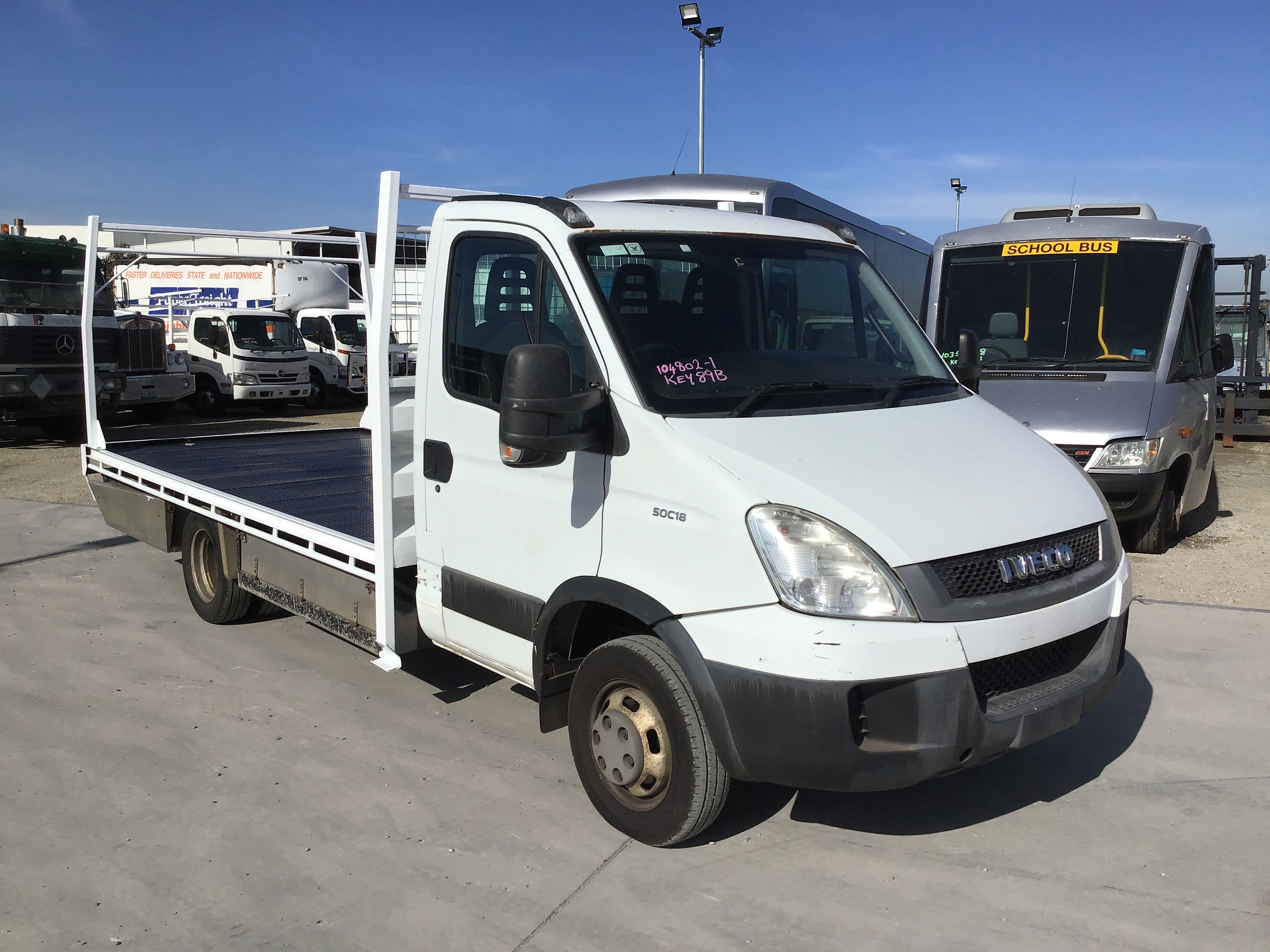 2010 Iveco Daily 4 x 2 Tray Body Truck