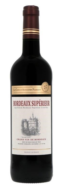 AOC La Cave D'Augustin Florent Bordeaux Superieur Rouge 2018 (6x 750mL)