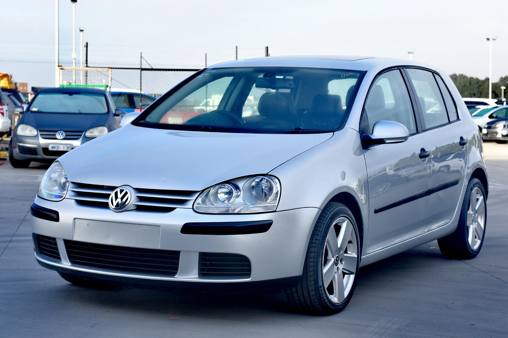 2005 Volkswagen Golf 1.9 TDI Comfortline 1k T/D Auto Hatch (WOVR)