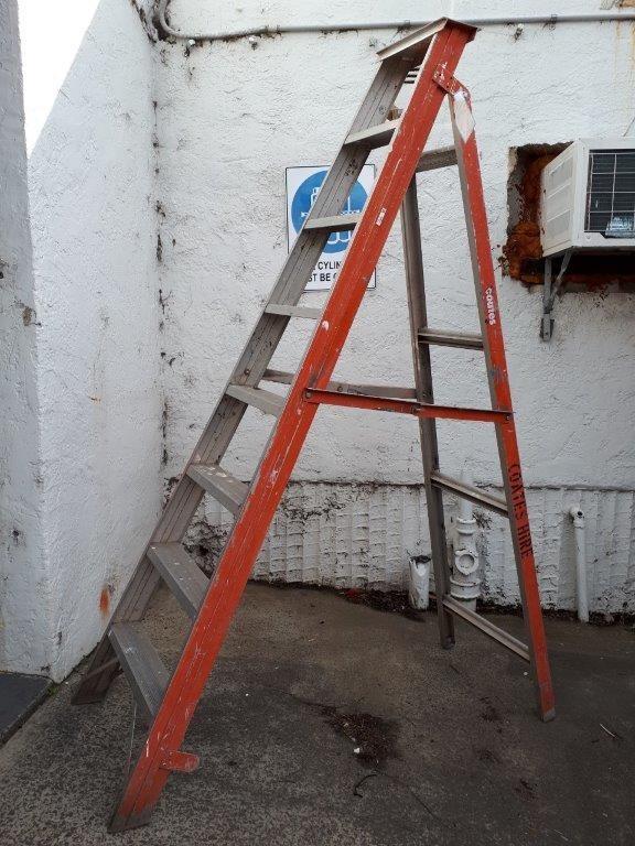 Ladder - Step Aluminium 2.4M - LADAMAX