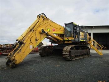 2010 Komatsu PC1250-8R Hydraulic Excavator with Bucket