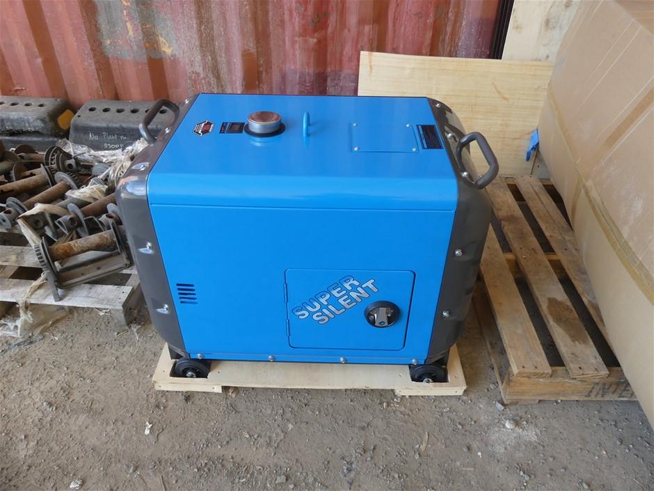Unused Ashita DG8500SE Generator