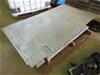 2 Sheets Aluminium Checker Plate