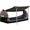 Mountview Double Swag Camping Swags Canvas Dome Tent Free Standing Grey