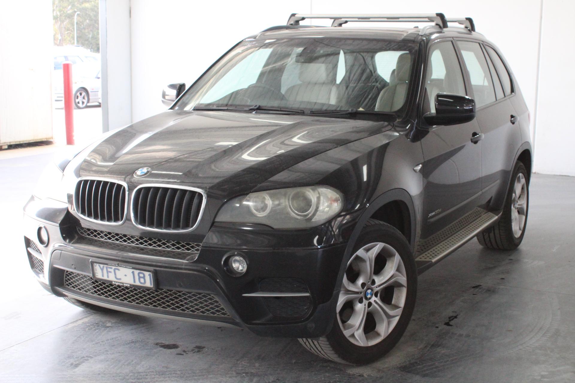 2011 BMW X5 xDrive 30d E70 LCI T/D Auto 8 Speed 7 Seats Wagon