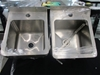 2 x Stainless Steel Sinks