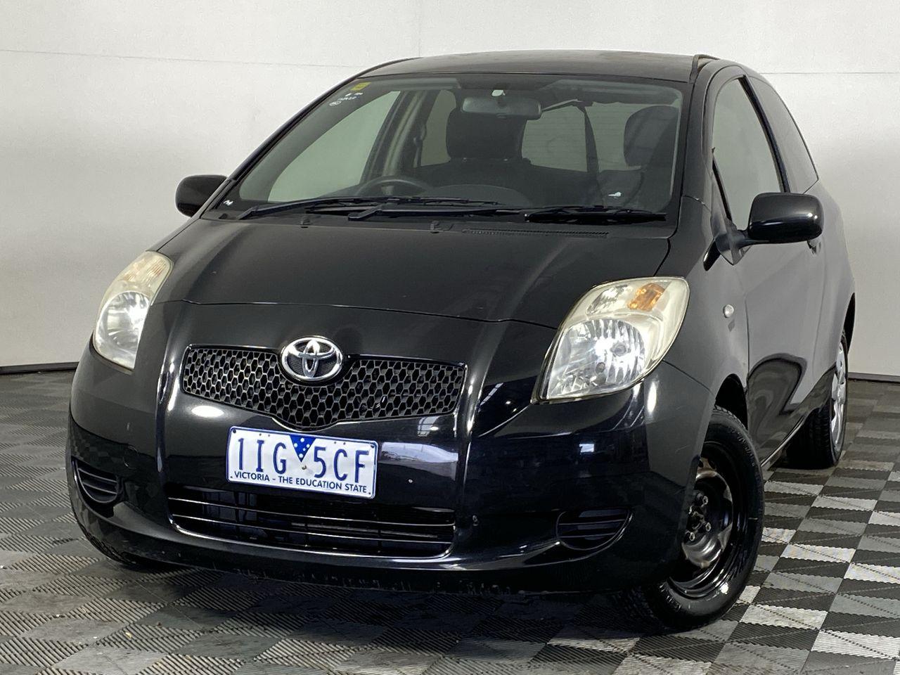 2008 Toyota Yaris YR NCP90R Automatic Hatchback