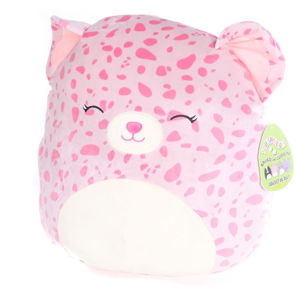 KELLYTOY Squishmallow ``Lorie The Leopard`` Super Soft Plush Toy (11.2 x 7.