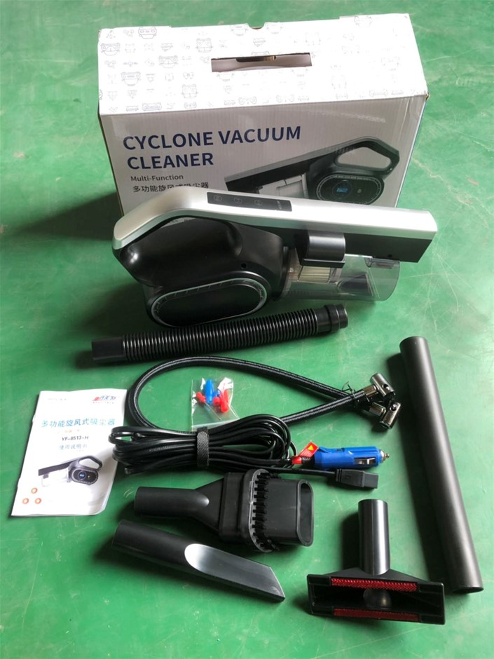 120W Portable Car Vacuum Cleaner with Screen Touch