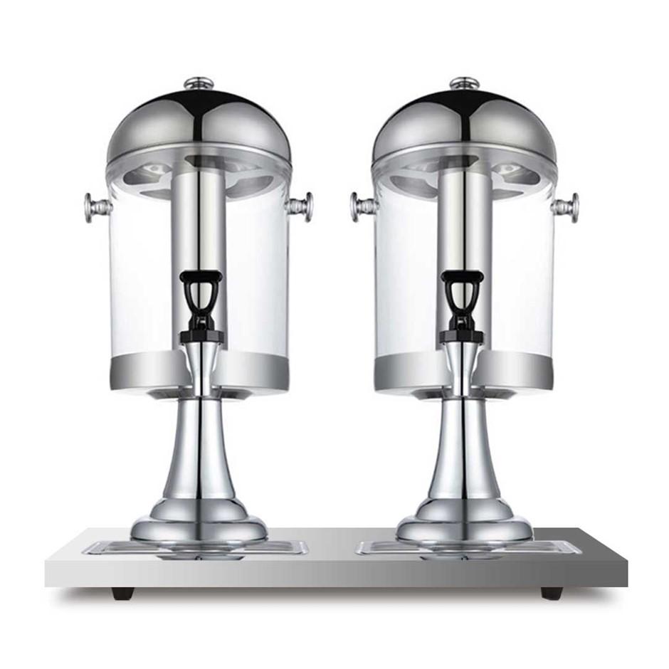 SOGA Dual 8L Juicer Water Milk Coffee Pump Beverage Drinking Utensils