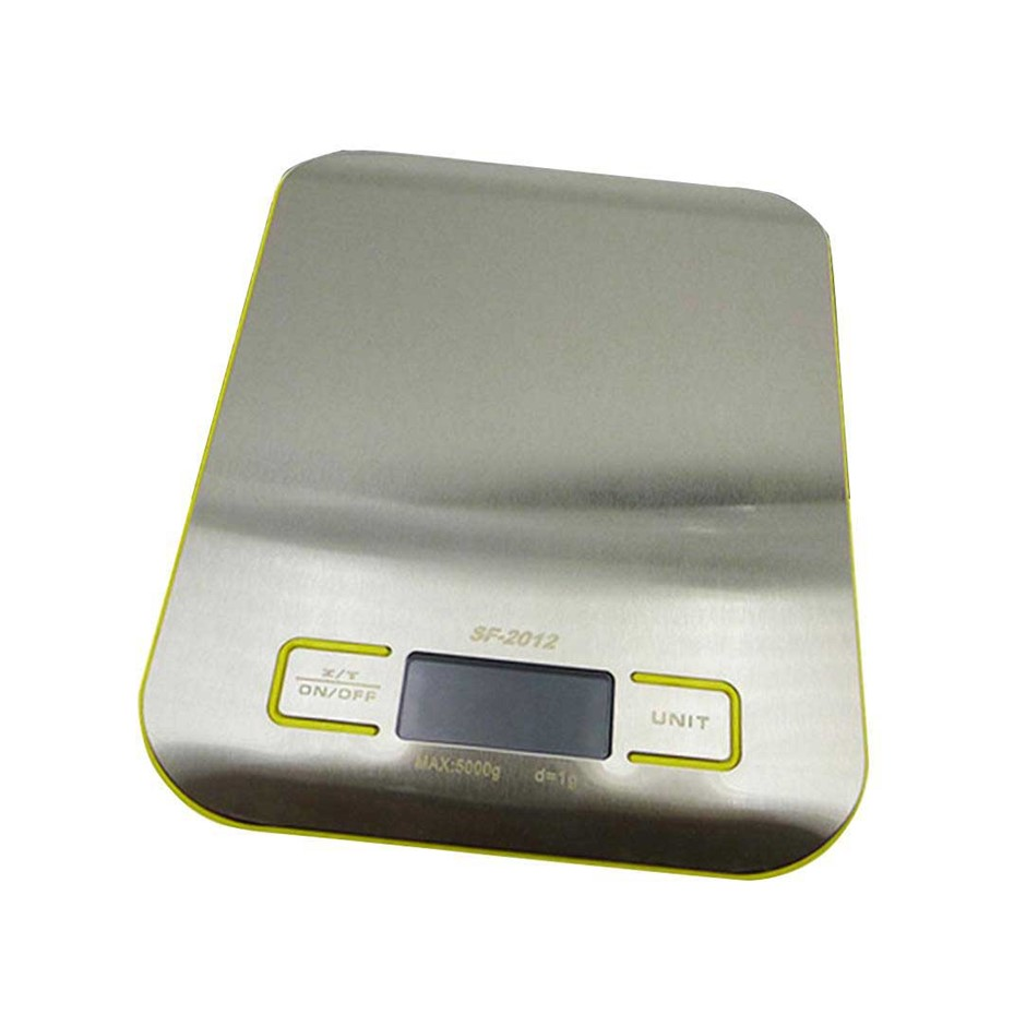 SOGA 5kg/1g Kitchen Food Diet Postal Scale Dig. LCD Elec. Jewelry Weight