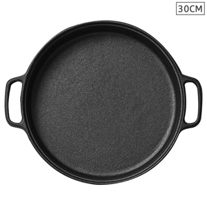 Cast Iron 30cm Frying Pan Skillet Non-st